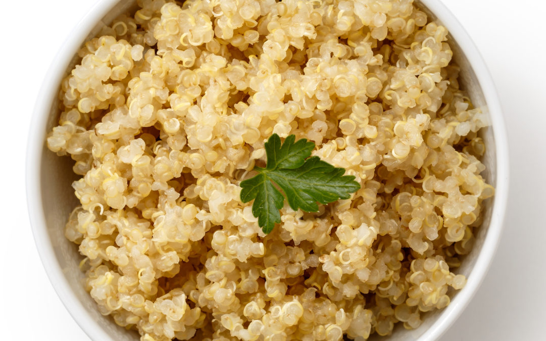 Recipe of the Month: Lemony White Quinoa